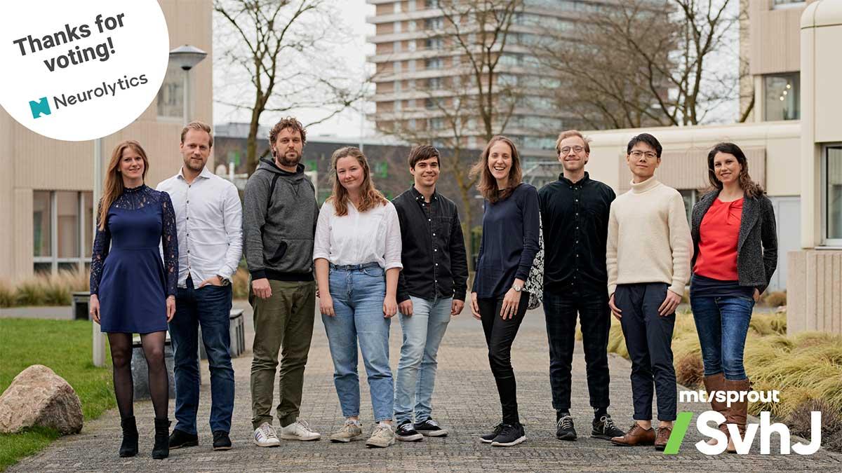 Neurolytics MT/Sprout Startup van het Jaar (NL)